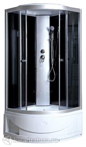 Душевая кабина ODA 8401 тонированное стекло в/п 90*90 см