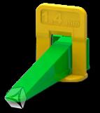 """Система выравнивания плитки """"Ворота"""" 1,4 мм 40 шт/пакет"""