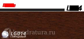 Плинтус Line Plast Дуб Венге L014