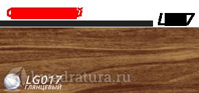 Плинтус Line Plast Орех Темный L017
