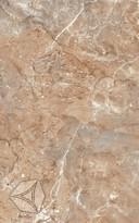 Настенная плитка  Нефрит-Керамика Гермес темн.-коричн. 40*25 см