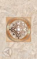 Декор  для настенной плитки Нефрит-Керамика Гермес коричн. 40*25 см