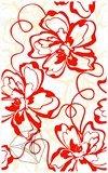 Декор  для настенной плитки Нефрит-Керамика Монро красная 40*25 см
