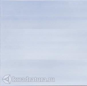 Напольная плитка УралКерамика Акварель на голубом голубая 41,8*41,8 см