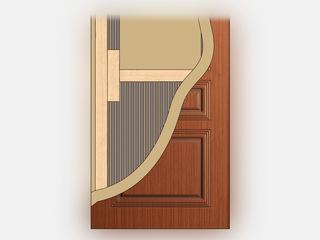 Как многослойный торт: межкомнатные двери и их начинка