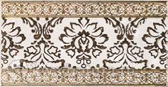 Бордюр  для настенной плитки  Lasselsberger Катар Белый 25*13 см