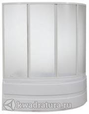 Шторка для ванны Бас Алегра (пластик Вотер, Космос)