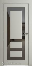 Межкомнатная дверь Дверной вопрос Неон ПДОч 00005 Серена светло-серый