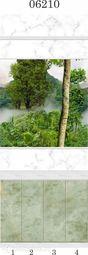 Стеновая панель ПВХ Panda Тайна Природы 06210