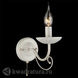 Настенный светильник (Бра) Eurosvet Provence 22404/1 белый с золотом