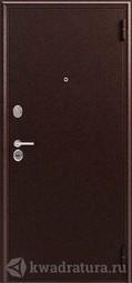 Дверь входная металлическая Зевс Z-6 медь/орех