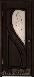 Межкомнатная дверь ВФД 10ДО4 Грация Венге