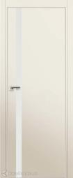 Дверь ProfilDoors 6E Магнолия сатинат матовая хромка под скрытую систему Invisible
