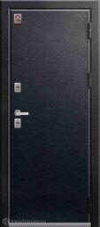 Дверь входная металлическая Центурион Т-2 Черный муар / Полярный дуб