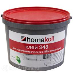 Клей homakoll 248  клей для полукоммерческого линолеума