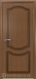 Межкомнатная дверь ВФД Классика Орех, глухая