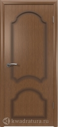 Межкомнатная дверь ВФД Кристалл Орех, глухая