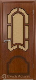 Межкомнатная дверь ВФД Кристалл Макоре, стекло