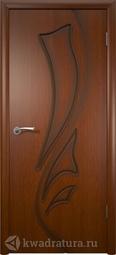 Межкомнатная дверь ВФД Лилия Макоре, глухая