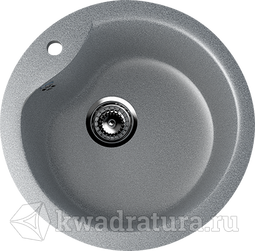 Кухонная мойка ULGRAN U-102 тёмно-серый №309 48 см