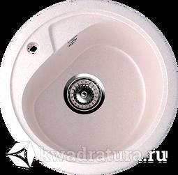 Кухонная мойка ULGRAN U-500 светло-розовый №311 44 см