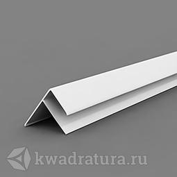 F-Профиль для панелей ПВХ белый 3 м