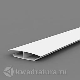 Профиль соединительный для панелей ПВХ белый 3 м