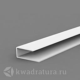 Профиль стартовый для панелей ПВХ белый 3 м