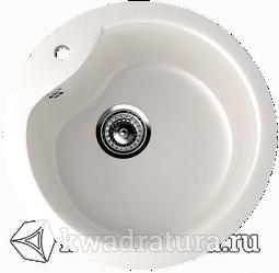 Кухонная мойка ULGRAN U-102 белый №331 48 см