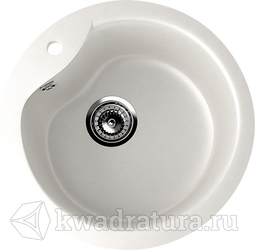 Кухонная мойка ULGRAN U-102 молочный №341 48 см