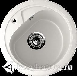 Кухонная мойка ULGRAN U-500 молочный №341 44 см