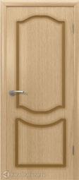 Межкомнатная дверь ВФД Кристалл Светлый дуб, глухая
