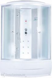 Душевая кабина AQUAPULSE 4302A fabric white 90*90