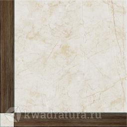 Напольная плитка InterCerama SHATTO коричневая 43*43 см