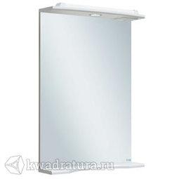 Зеркало Руно Ксения 50 с подстветкой белый