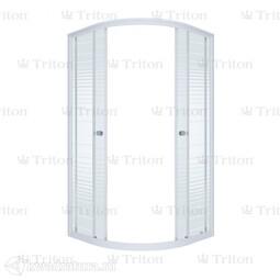 Душевая ширма Triton Стандарт полосы 100*100 см