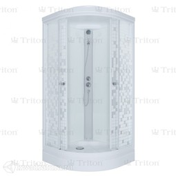 Душевая кабина Triton АКВА Стандарт Мозаика А 100*100