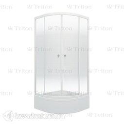 Душевое ограждение Triton Лайт 100*100 В (с поддоном)