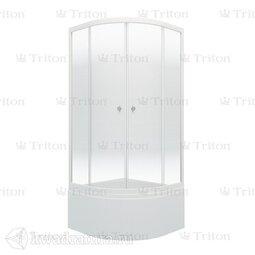Душевое ограждение Triton Лайт 90*90 Б (с поддоном)