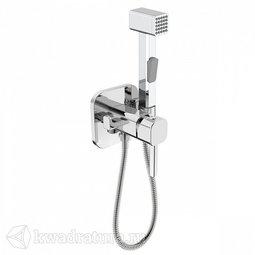 Смеситель скрытого монтажа с гигиеническим душем Iddis 004SBS0i08
