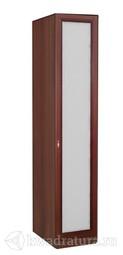 Шкаф одностворчатый Валенсия с зеркалом ЛД