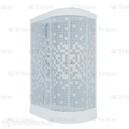 Душевая кабина Triton Коралл 120*80 А Левая (ДН4)