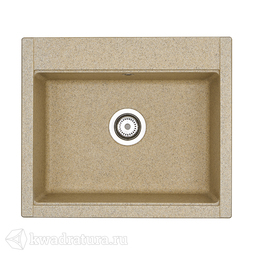 Кухонная мойка Aquaton Делия 60 (песочный) 1A715232LD220