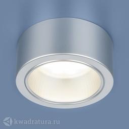 Накладной точечный светильник Elektrostandard 1070 GX53 SL серебро