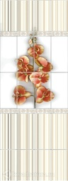 Стеновая панель ПВХ VOX Орхидея Беж