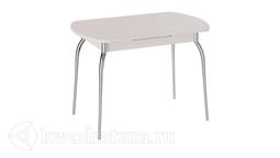 Стол обеденный с хромированными ножками Рио (Дуб Девонширский) ТР
