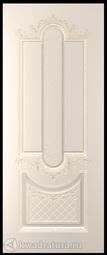 Межкомнатная дверь Румакс Джаз 1 ПГ персиковый с патиной