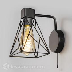 Настенный светильник (Бра) Eurosvet 70107/1 черный