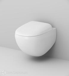 Унитаз подвесной AM.PM FlashClean с сиденьем микролифт Sensation C301700WH