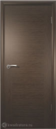 Межкомнатная дверь ВФД Рондо Венге, глухая
